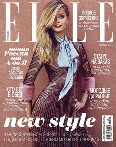 Elle Russia September 2015, Frida Aasen