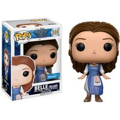 Beauty and the Beast Live Action Belle Pop! Vinyl Figure from Funko. Perfect for any Company_Funko Product Type_Pop! Vinyl Figures Theme_Beauty and the Beast fan! Disney Pop, Disney Marvel, Figurine Pop Disney, Pop Figurine, Pop Vinyl Figures, Fera Disney, Disney Collection, Pop Collection, Beauty And The Beast Movie