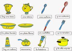 Cancion soy una taza            http://infantilgraciapc.blogspot.com.es/2014/10/estudiamos-nuestra-casa.html