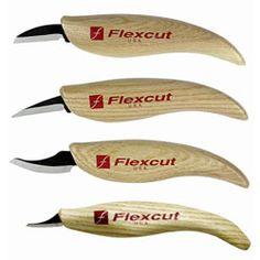 *Flexcut Carving Knife Set 4pc $72.95