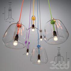 Светильники Vitamin (Knot Pendant Lamp- Large, Small)