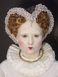 Elizabethan Era Makeup The make up was quite
