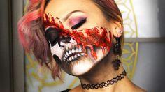 КИСЛОТОЙ В ЛИЦО | ACID SKULL Makeup Tutorial