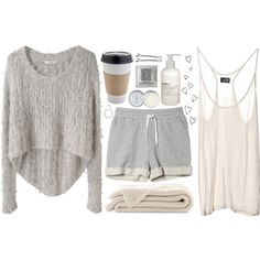 Lounge day!! = Make a pot of coffee-stay in jammies-pinterest all day-hair in a messy bun-not doing anything productive-kind of day <3 my favorite  (: