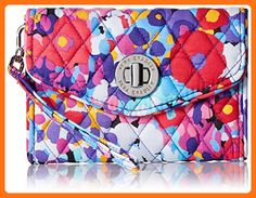Vera Bradley Your Turn Smartphone Wristlet Wallet, Impressionista, One Size - Wallets (*Amazon Partner-Link)