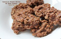 Chocolate Peanut Butter No Bake Cookies A Christmas Tradition in my house!