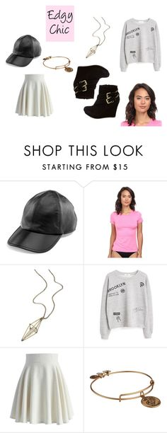 """Edgy Chic"" by vivianrose-11 on Polyvore featuring Yestadt Millinery, Rip Curl, maurices, MANGO, Chicwish, Alex and Ani and Charlotte Russe"