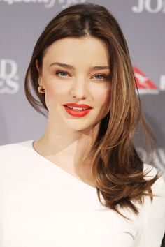 Hair Color Trends Fall 2012 - Dark Side: Miranda Kerr