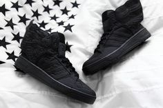 newest ee099 13041 A Closer Look at the adidas Originals x Jeremy Scott x A AP Rocky JS Wings  2.0 BLACK FLAG (Highsnobiety)