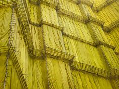 singapore-based photographer peter steinhauer documents the architecture within the urban landscape of hong kong from an uncommon perspective -- when the monolithic structures are under construction like a cocoon. Temporary Architecture, Architecture Old, Hong Kong, Colour Blocking Fashion, File Image, Scaffolding, Great Photographers, Future City, Urban Landscape