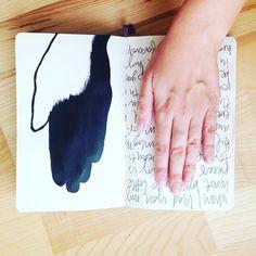 @ninachristen    Going back to a kindergarten fave   Creative Team Inspiration   Get Messy Art Journal