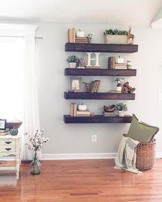 99 DIY Farmhouse Living Room Wall Decor And Design Ideas (44)