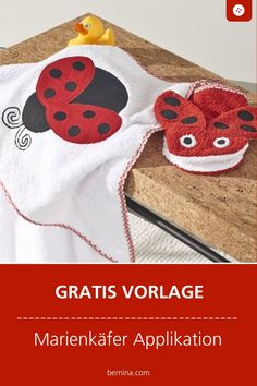 Ladybug applique Freebie – The World Shabby Chic Embroidery, Diy Embroidery Flowers, Hand Embroidery Patterns Free, Baby Embroidery, Simple Embroidery, Free Machine Embroidery, Lady Bug, Broderie Simple, Applique Templates
