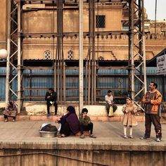 at the El-Maadi Station, Cairo, Egypt, on Dec. 5, 2014. Photo by @Panchaoyue