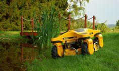 SlopeCare Robotic lawn mower.