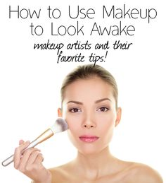 "Great tips, not just ""use more concealer"""