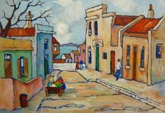 District Six, Cape Town in the Paintings category was sold for on 10 Apr at by galleria in George Online Gallery, Art Gallery, African Art Paintings, Impressionist Artists, South African Artists, Drawing Lessons, Street Artists, Paintings For Sale, Cape Town