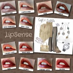 #Beautiful #timeless #LipSense #shades. Which one is your go to daily #fav?