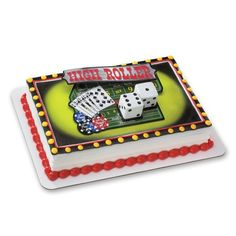 Decopac Casino Night Out DecoSet Cake Topper *** You can get additional details at the image link.
