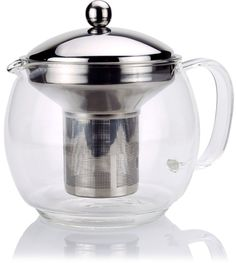 Cozyma Glass Teapot with Infuser for Blooming and Loose Leaf Tea Pot 41oz  #Cozyma
