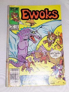 Star Wars EWOK #3,  Rare Comic Book,  Star Wars Collectible Comic Book
