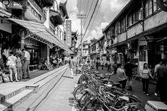 Bazar autour du jardin Yu