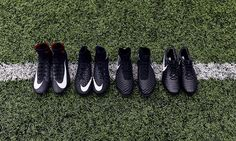 The new Nike Black Pack is one of the most stunning Nike soccer cleats  collection ever. f8aeba622