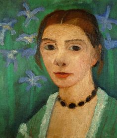 Self Portrait Paula Modersohn-Becker died of an embolism in 1907 when she was thirty-one years old and eighteen days a mother. There is so much that is remarkable about her that it seems contradic...