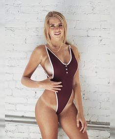 Check out these 24 sexy styles and find a bikini or best swimwear one-piece that will make you feel like the beach goddess you truly are. Sexy Bikini, Bikini Girls, Bikini Swimsuit, Thong Bikini, Mädchen In Bikinis, Monokini Swimsuits, Corpo Sexy, Best Swimwear, Sexy Hot Girls