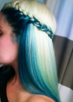 #blonde #blue