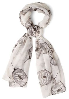 In This Day and Birdcage Scarf. After years of perfecting your sense of style, youve learned that you feel your best when youre comfortable. #whiteNaN