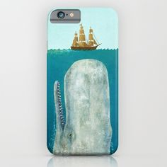 The+Whale++iPhone+&+iPod+Case+by+Terry+Fan+-+$35.00