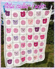 Camillas livsstil: Teddy Bear blanket ...Nalle pläd