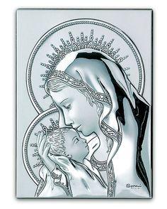 Obrazek Madonna z Dzieciątkiem w aureoli - (s#1056,7,8,2116,7) [PasazHandlowy.eu]