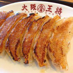 大阪王将の元祖焼餃子