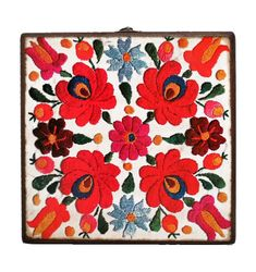 30cm x 30cm x 9cm-Beautiful Wooden Hand Made Accessories Box with Decoupage Technic-DBP-30x30-02