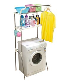 Look what I found on #zulily! Wash Machine Storage Rack by Above Edge #zulilyfinds