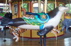 Kansas City Zoo Carousel Carousel Works Seal