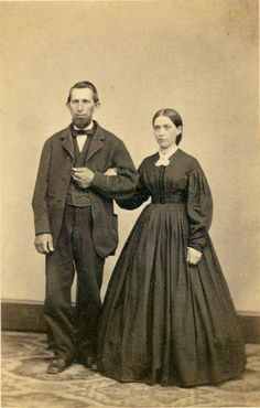 1860's couple