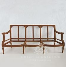 Our popular range of two and three seater sofa's are true to antique furniture styles of the past. Majority of our settees have matching armchairs to create the perfect set. Unfinished Furniture, Antique Furniture, Outdoor Furniture, Outdoor Decor, Three Seater Sofa, Settees, Furniture Styles, Dutch, Connection