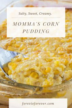 Momma's Corn Pudding