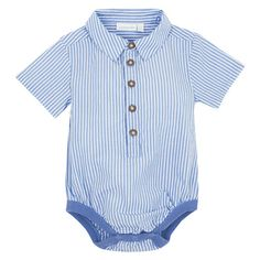 Shirt Style Baby Bodysuit, Baby Tops and Bottoms, Baby Clothes