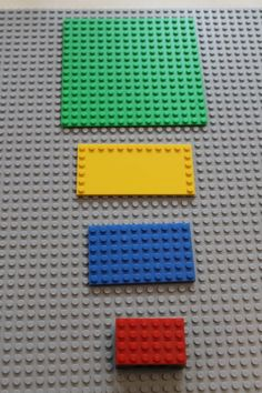 Teaching Perimeter & Area with Legos