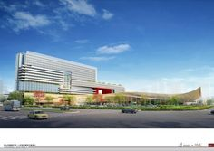 First People's Hospital / HMC Architects,Courtesy of HMC Architects