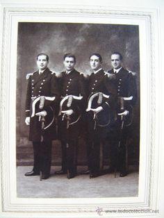 POLICIA CARTAGENA. ANTIGUA CARTAGENA. Finales siglo XIX. Foto Casau. - Foto 1