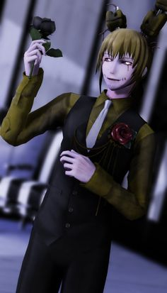 My FAVE mmd springtrap model its done do well and I just love him