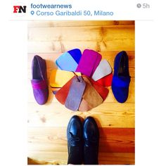 """Thank you to the dearest @moshalundstrom, from the shoe """"bible"""" @footwearnews -she's wearing #CbTodi-  for the visit at our showroom to interview Cecilia and to check our latest collection! Here she posted our new model #CbFarfalla and some leathers options! #Proud #Thankful #Excited #CbMadeInItaly #EmotionNeedsNoSignature #CeciliaBringheli #HandMade #Quality #Customization @ceciliabringheli #HandMade #MadeInItaly #MustHave #NewCollection"""