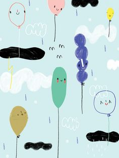 WALL FLOWERS - agata królak - design and illustration for children of all ages