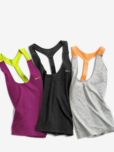 Tanks for days. New Nike Workout Tanks Elastika 2.0. #Nike #training #style http://www.FitnessApparelExpress.com
