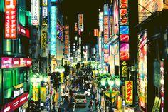 #Shinjuku nights [] 新宿の夜 [] by manganite